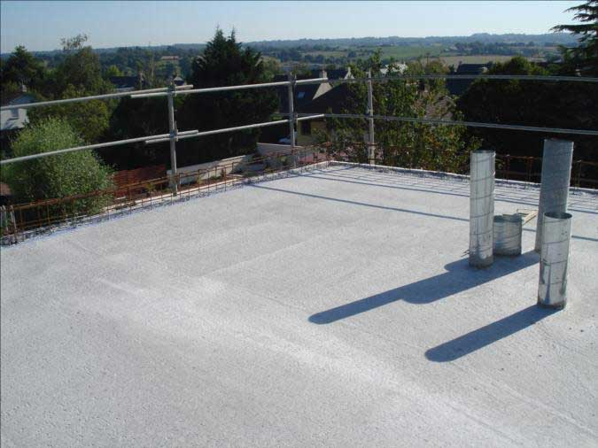 Seac solutions planchers toiture terrasse pour les for Coupe toiture terrasse