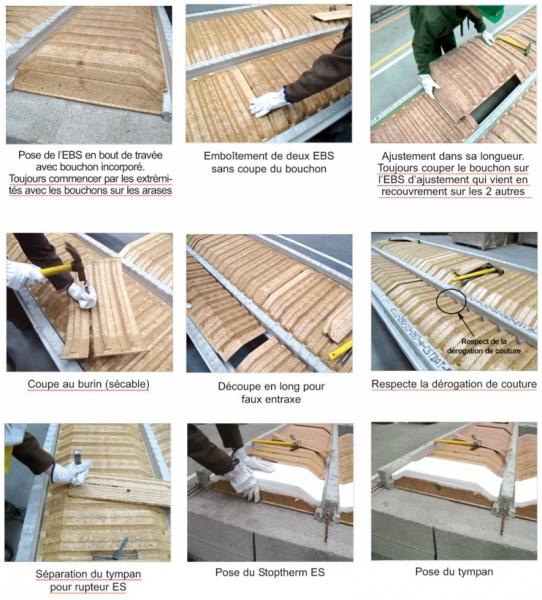 Plancher EBS facilité de mise en oeuvre