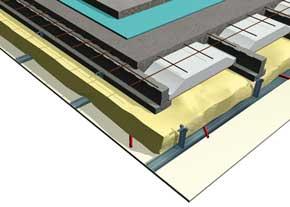 Schéma matériaux résiliant+chape carrelage SEAC