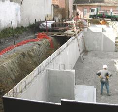 chantier en Duomur SEAC