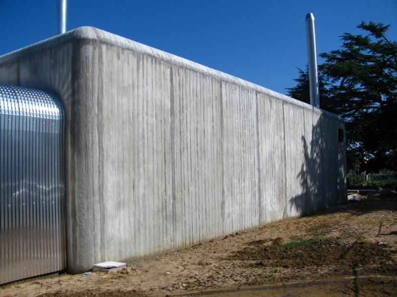 Duomur architectonique matricé
