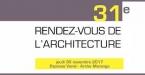 Rendez-vous de l'Architecture le 30 novembre 2017