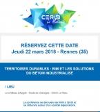 Matinale du Cerib : Territoires durables : E+ C-, BIM les solutions du béton industrialisé