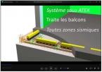 ThermoPrédalle® SEAC Prédalle à correction de ponts thermiques
