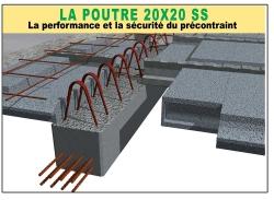 Poutre PR 20x20