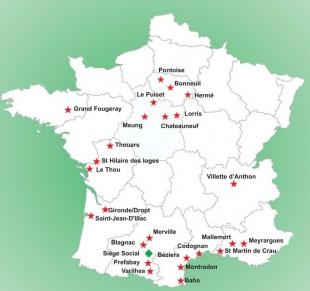 Nos usines SEAC en France